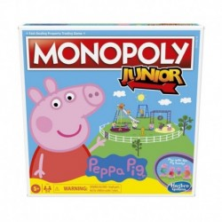 Monopoly Junior: Peppa Pig Edition Board Game