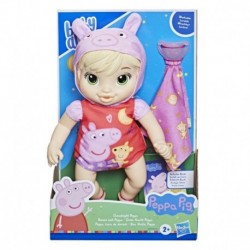 Baby Alive Goodnight Peppa Doll, Peppa Pig Toy, First Baby Doll, Soft Body