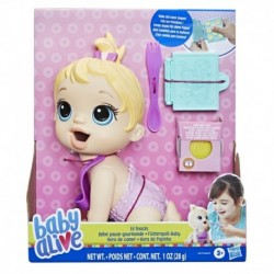 Baby Alive Lil Snacks Doll, Eats and 'Poops,' 8-inch Baby Doll with Snack Mold