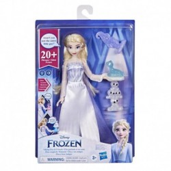 Disney's Frozen 2 Talking Elsa and Friends, Elsa Doll with Sounds and Phrases