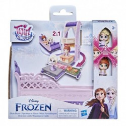 Disney's Frozen 2 Twirlabouts Picnic Playset Sled-to-Castle with Elsa and Anna Dolls