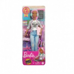 Barbie Career of The Year 2021 Music Producer (Pink Hair)