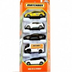 Matchbox Cars 5 Packs MBX EV & Hybrid