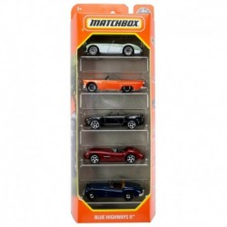 Matchbox Cars 5 Packs Blue Highways II