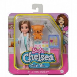 Barbie Chelsea Can Be Career Doll with Doctor Outfit & Related Accessories