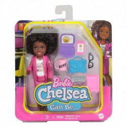 Barbie Chelsea Can Be Playset with Brunette Chelsea Boss Doll