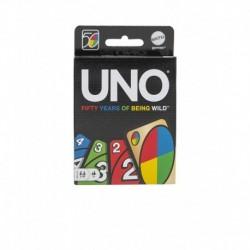 UNO 50th Anniversary Edition Game Card
