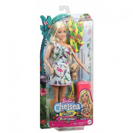 Barbie and Chelsea The Lost Birthday Doll and Accessories