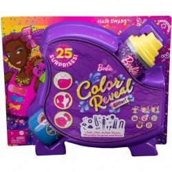 Barbie Color Reveal Doll Hair Swap Purple