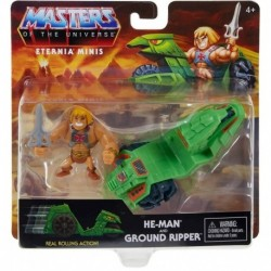 Masters of the Universe Eternia Minis He-Man & Ground Ripper Pack