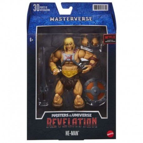 Masters of the Universe Masterverse Revelation He-Man Action Figure