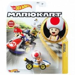 Hot Wheels Mario Kart Replica Die-Cast - Toad Standard Cart