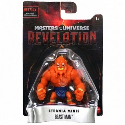 Masters of the Universe Revelation Beast Man Eternia Minis Figure
