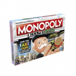 Monopoly Crooked Cash Board Game For Families and Kids