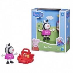 Peppa Pig Peppa's Adventures Peppa's Fun Friends Preschool Toy, Zoe Zebra Figure