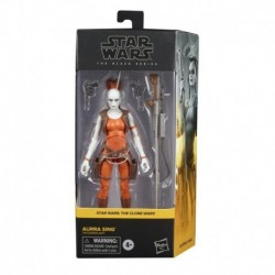 Star Wars The Black Series Aurra Sing Toy 6-Inch-Scale Star Wars: The Clone Wars Collectible Figure