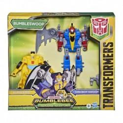 Transformers Bumblebee Cyberverse Adventures Dinobots Unite Dino Combiners Bumbleswoop Figures