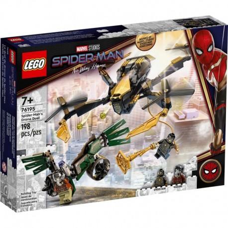 LEGO Marvel Spiderman 76195 Spider-Man's Drone Duel