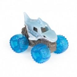 Monster Jam Mini Vehicle F21 - Megalodon Blue Tyre