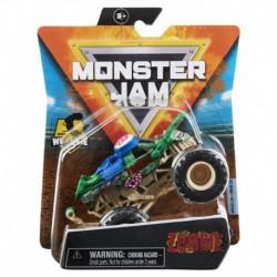 Monster Jam 1:64 Single Pack F21 Zombie Green Wheelie Bar