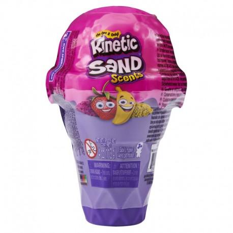Kinetic Sand Scents Ice Cream Cone Strawberry Banana