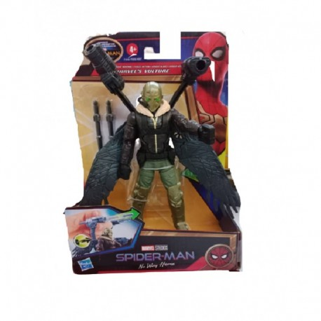 Marvel Spider-Man 6-Inch Deluxe Web Wing Blast Marvel's Vulture Action Figure