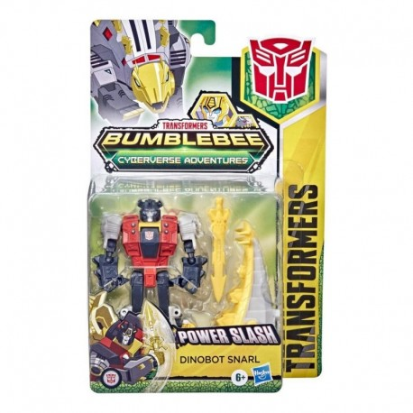 Transformers Bumblebee Cyberverse Adventures Dinobots Unite Action Attackers Warrior Dinobot Snarl Figure
