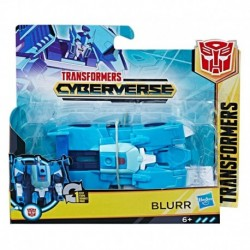 Transformers Cyberverse Action Attackers: 1-Step Changer Blurr Action Figure