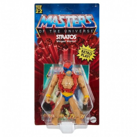 Masters of the Universe Origins - Stratos (Version 2) Action Figure