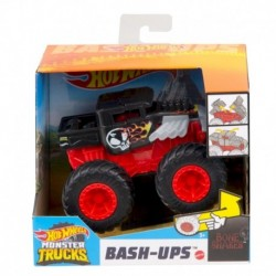 Hot Wheels Monster Trucks 1:43 Bone Shaker Vehicle (Black)