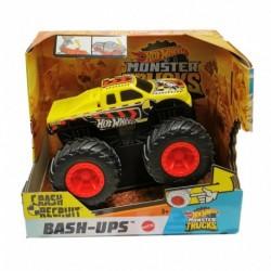 Hot Wheels Monster Trucks 1:43 Crash Recruit Vehicle