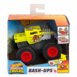 Hot Wheels Monster Trucks 1:43 Bone Shaker Vehicle (Yellow)