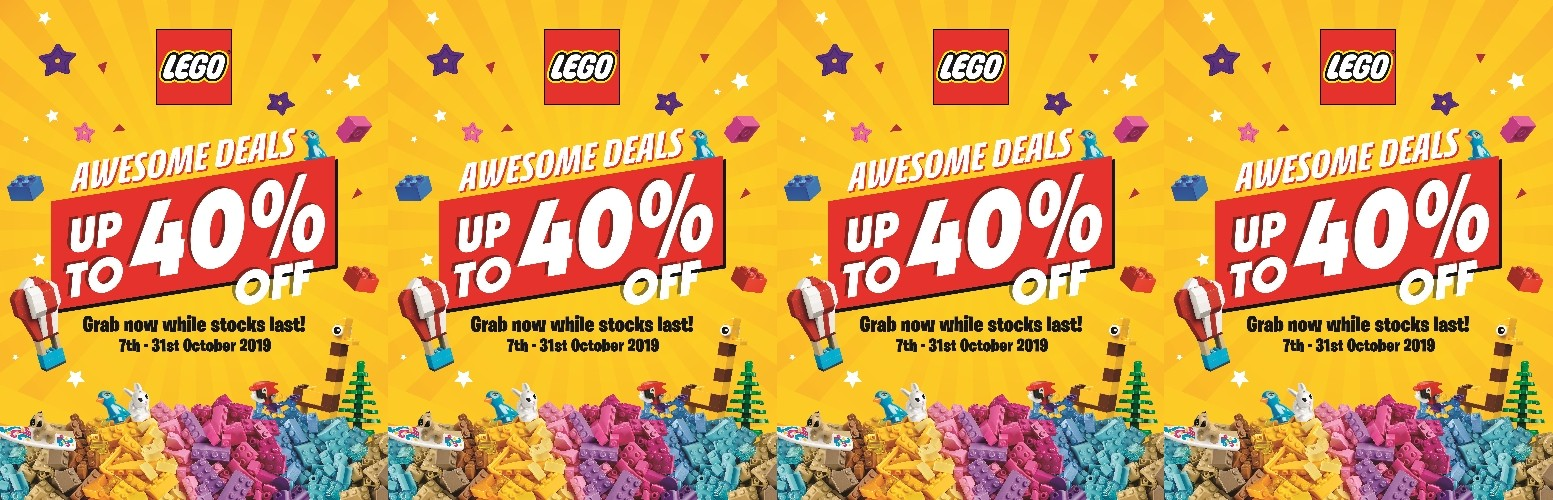 LEGO Awesome October Deal 2019