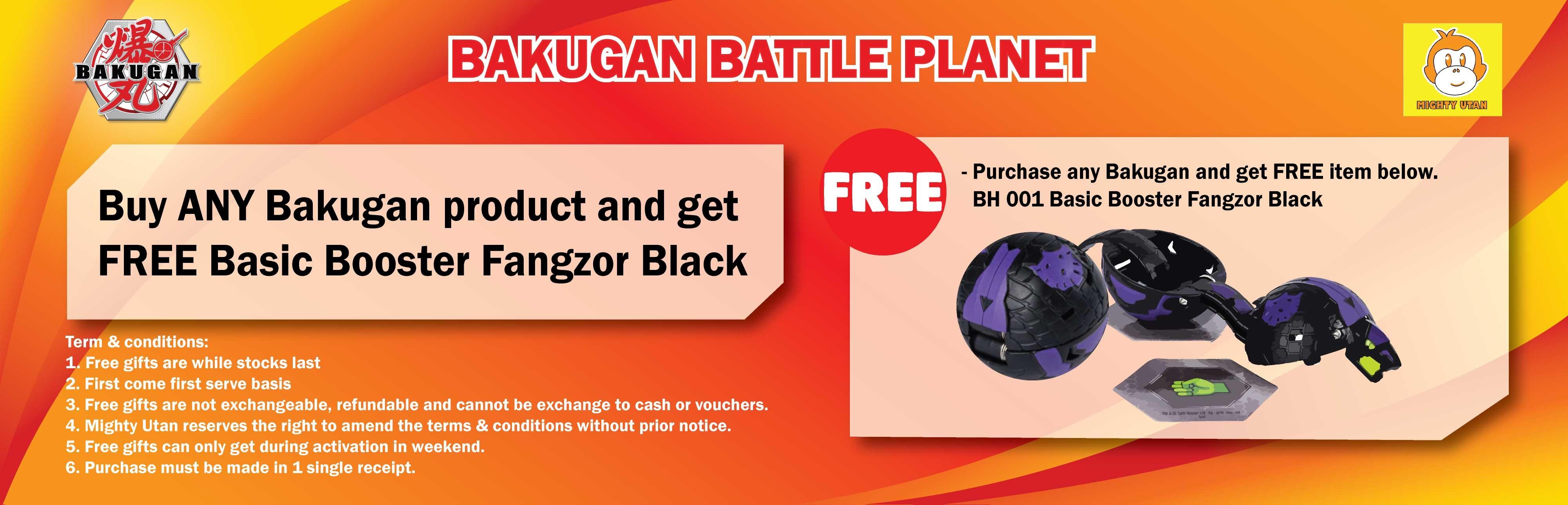 Bakugan Free Gift 2019