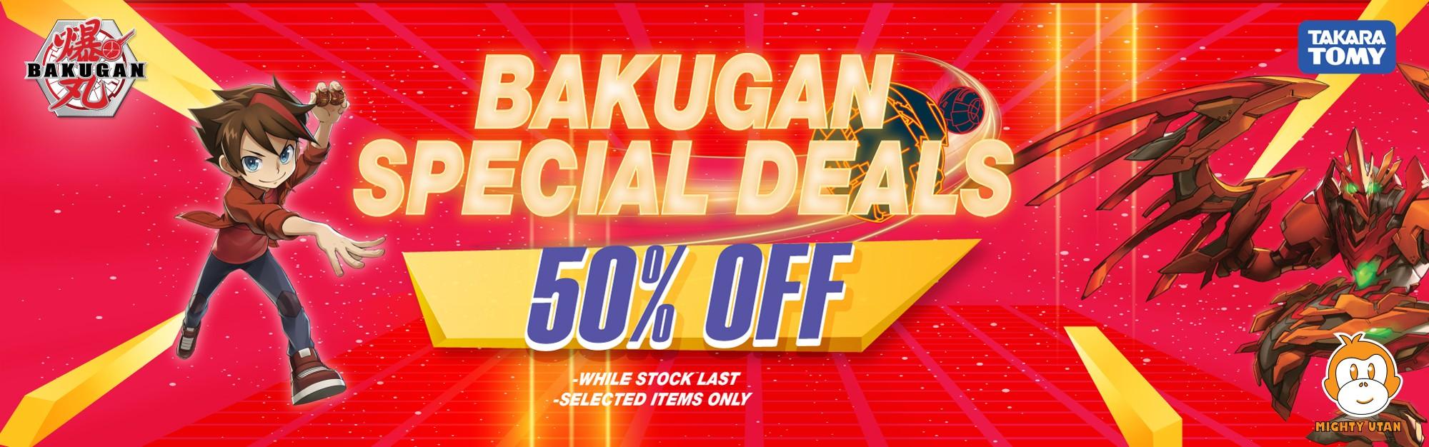 MU Bakugan Special Deals 50% off
