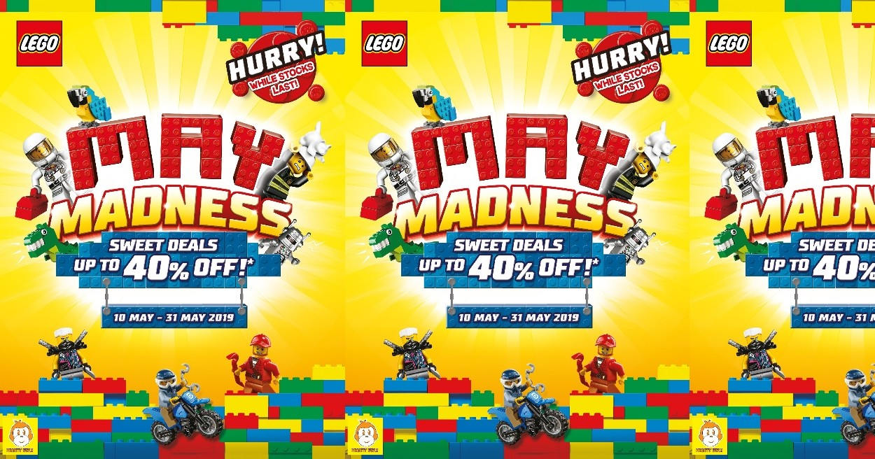 MAY MADNESS SWEET DEALS UP TO 40% OFF 2019