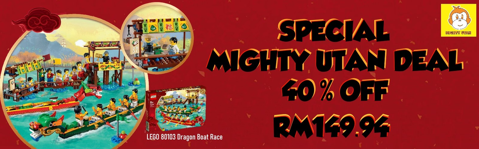 Special Mighty Utan Deal 40 Off 16th - 31st Oct 2019