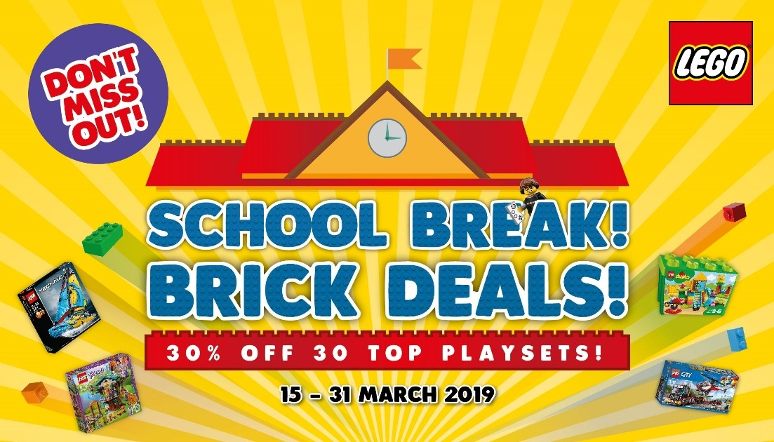 SCHOOL BREAK BRICK DEAL 2019